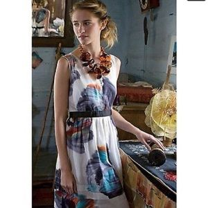 Anthropologie Leifsdottir Morning Colors Dress 2